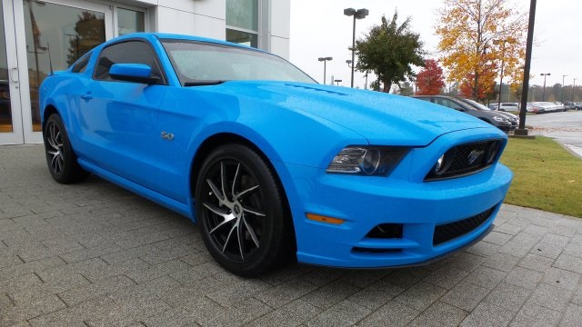 Pre Owned 2014 Ford Mustang Gt Premium 2d Coupe In Little Rock
